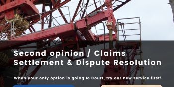 NEW!!! Second opinion / Claims Settlement & Dispute Resolution